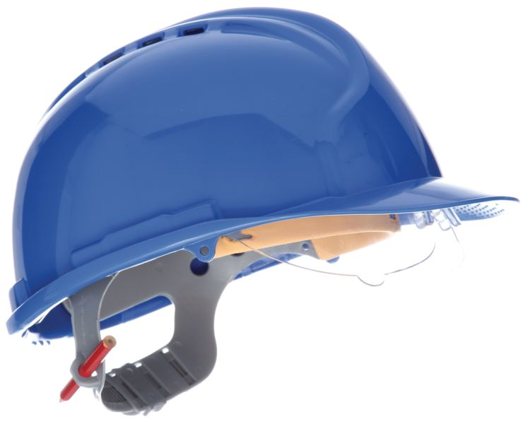 Mark7 Helmet With Slip Ratchet Blue Helmets