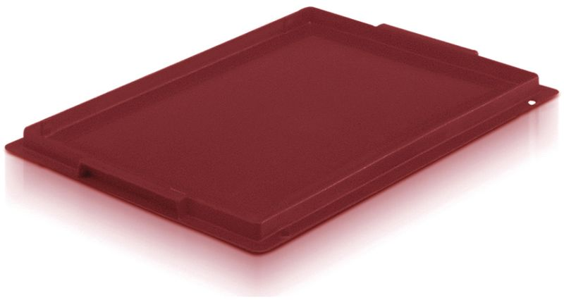 Lid For Extra Small Euro Containers Red Storage Containers