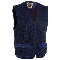 Mach 2 Polycotton Bodywarmer Navy Medium