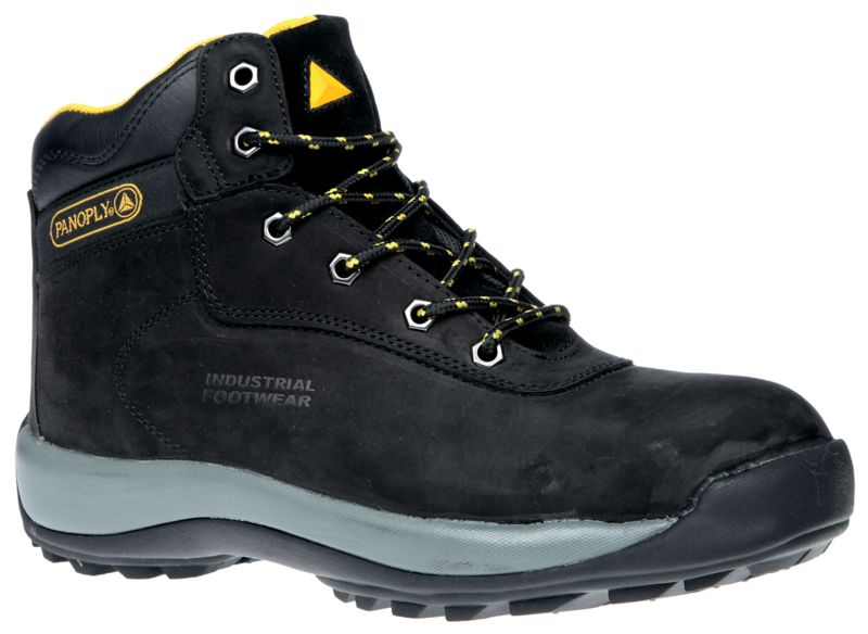 Deltaplus Black - Size Small Safety Boots 8 Boots