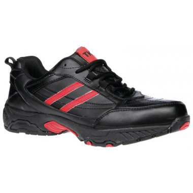 Steel Black Leather Trainer Shoes 10 Shoes