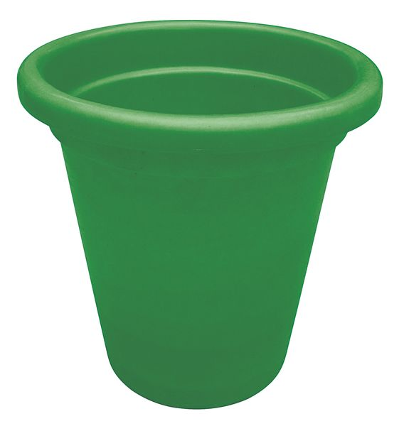 Green Tapered-Sided Cylinder Bin 45 Litre Bins