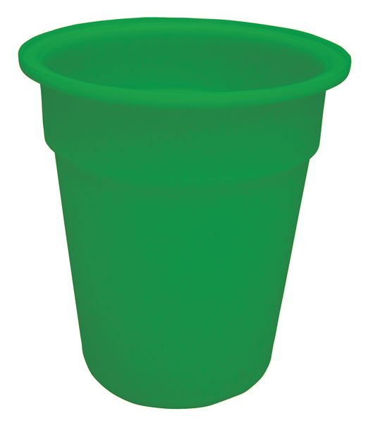 Green Tapered-Sided Cylinder Bin 100 Litre Bins