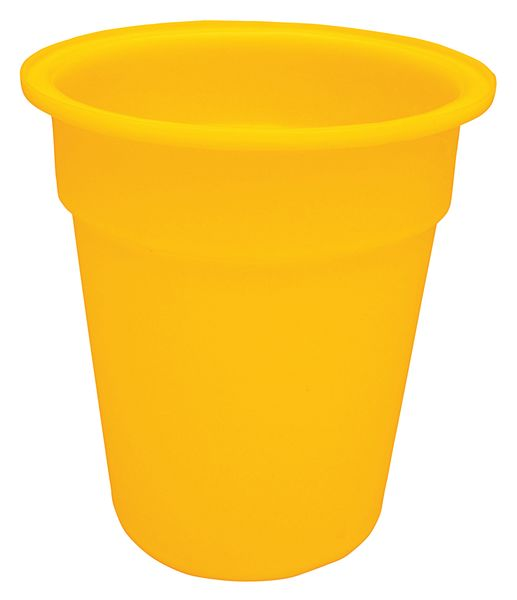Yellow Tapered-Sided Cylinder Bin 70 Litre Bins