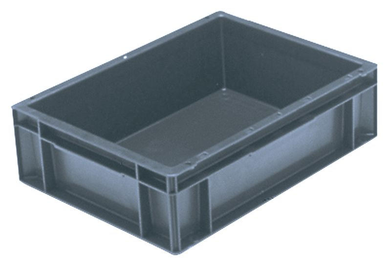 Extra Small Euro Container Solid 2 Litre Grey Storage Containers