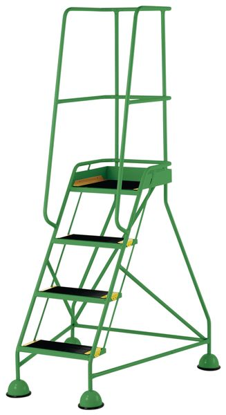 4 Tread Mobile Green Bs En 131-7 For Stairs