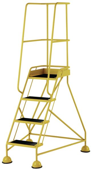 4 Tread Mobile Yellow Low Bs En 131-7 For Stairs