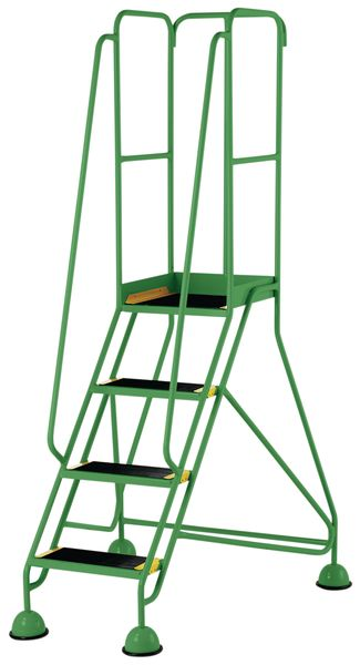 4 Tread Prem Mobile Green Bs En 131-7 For Stairs
