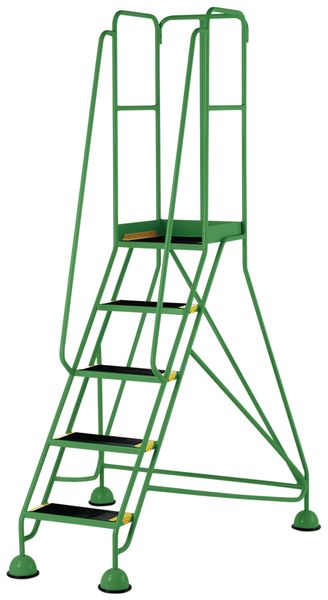 5 Tread Prem Mobile Green Bs En 131-7 For Stairs
