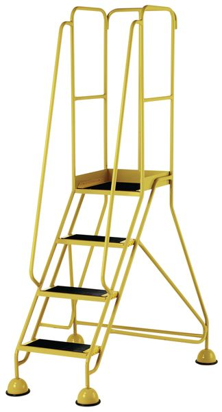 4 Tread Prem Mobile Yellow Bs En 131-7 For Stairs