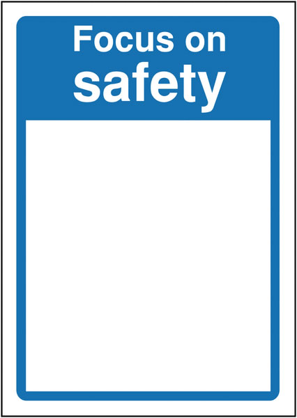 A3 Ppe Mirror : Focus On Safety Wall Mirror