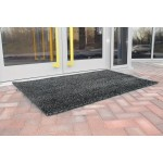 Outdoor Scraper Mat 0.9 x 9M Grey Mats