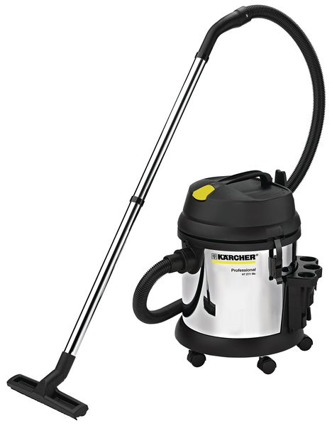 Karcher Nt 27 / 1 Me Metal Wet And Dry Vacuum Hoover