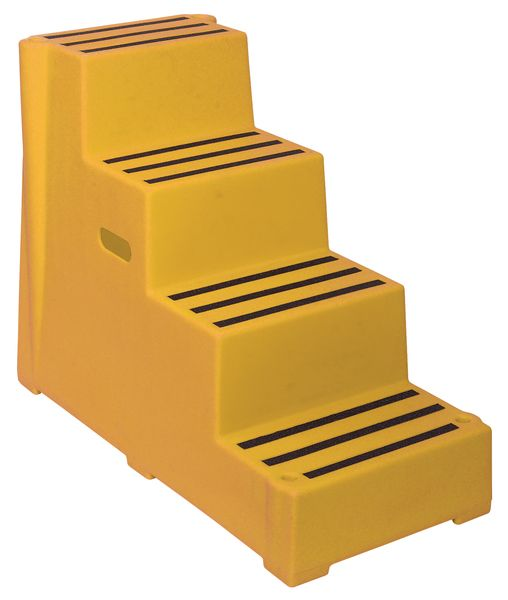 Safety Step 4 Tread Yellow Low For Stairs