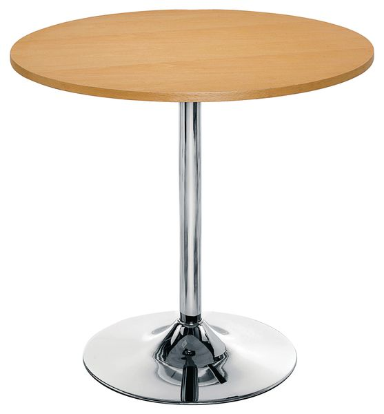 Express Bistro Funnel Table Beech Tables