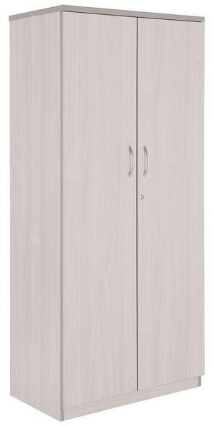 Concept Office Cupboard White 1800 mm Height