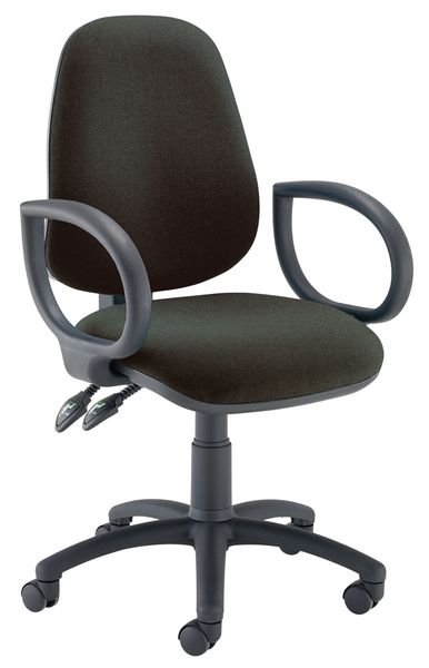 Concept Operator Ch Air Fixed Arms Black Chair