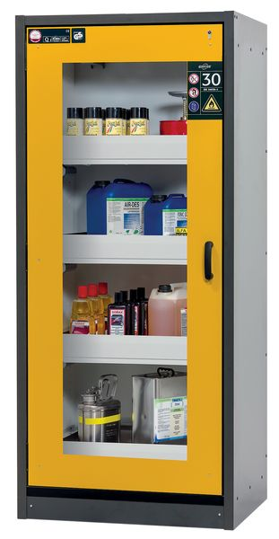 Glass Door Fire Resistant Cabinet 30 Minute Fire Rating Cabinet
