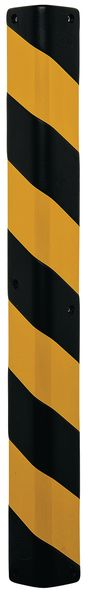 Alu And Foam Corn Protection 1000 x 95 x 95 mm Black / Yellow