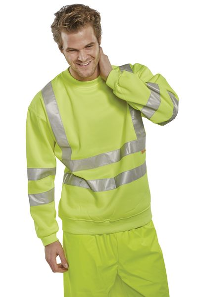 High Visibility Sweatshirt Small