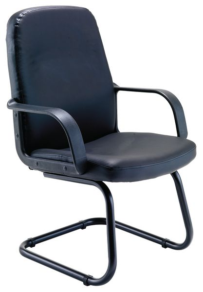 Canasta Visitor Leather-Look Chair Chair