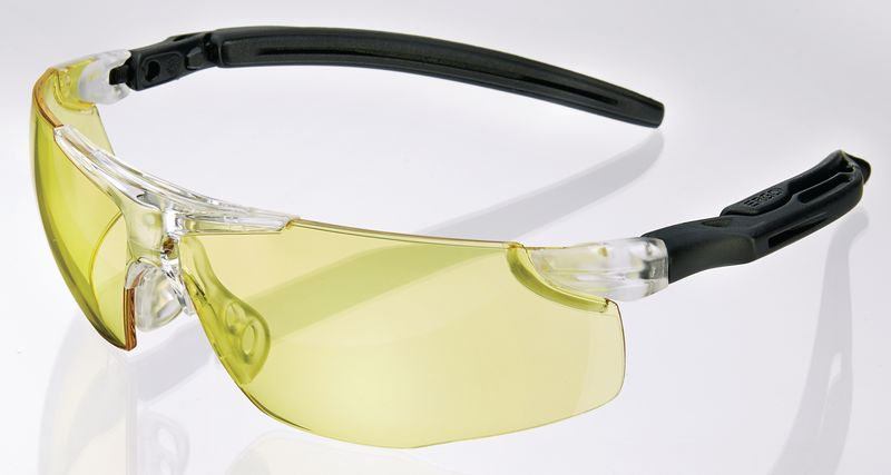 Comfort Fit Ergonomic Specs - Yellow Low