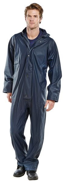 Foul Weather Coverall Navy Large Coverall