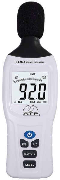 Dual Range Sound Meter With Calibration Cert Anemometer