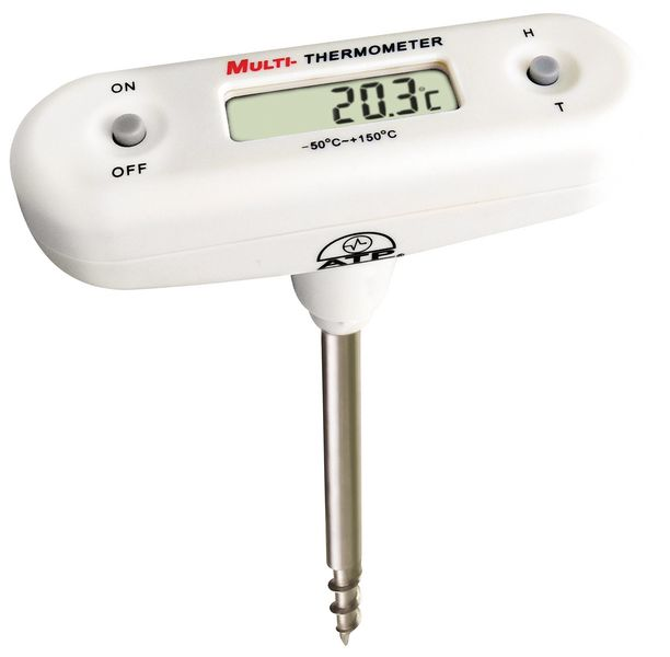 125 mm Probe Corkscrew T-Bar Thermometer Themometers