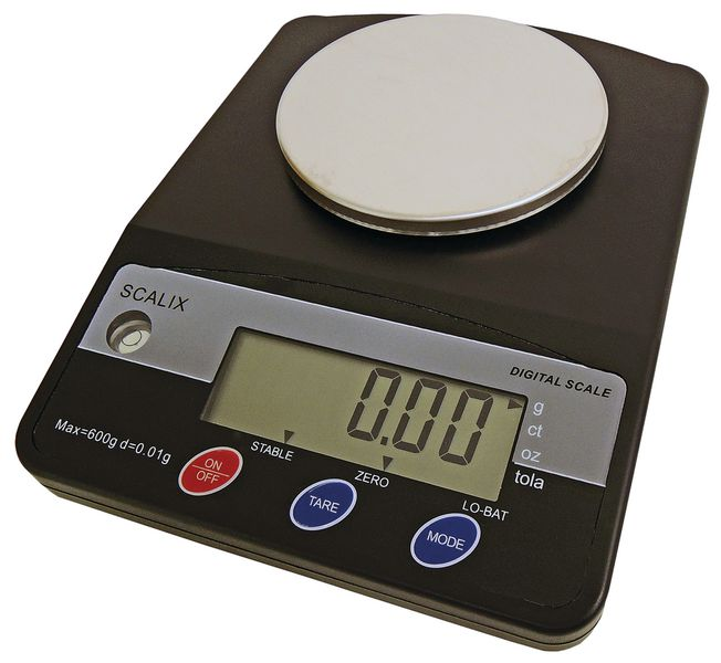 Scalix 600 Gram Hi-Precision Ision Weighing Scale Scales