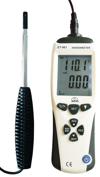 Hot Wire Thermo Anemometer Anemometer