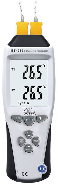 High Accuracy K And J Type Thermometer Themometers