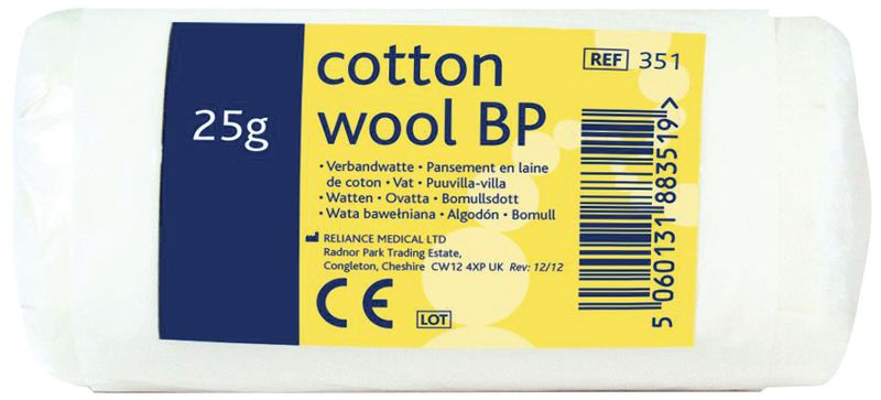 Cotton Wool Roll 25G