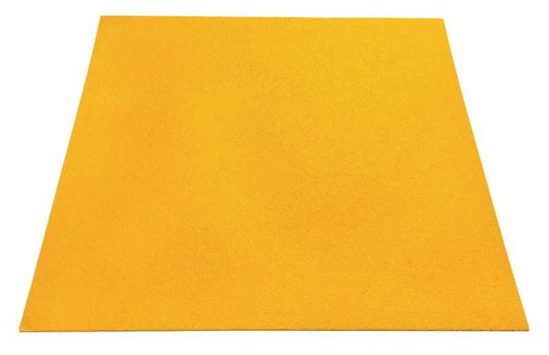 Fine Flat Decking Sheet Yellow 1200 x 800 mm Decking