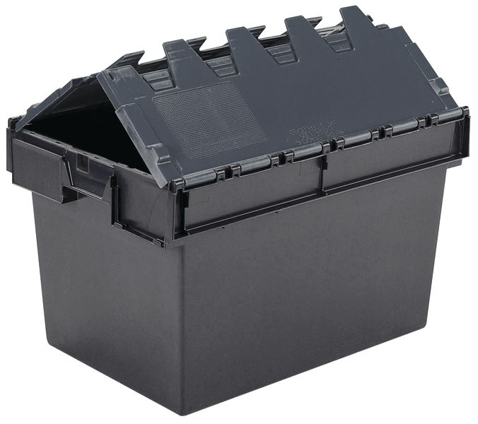 54 Litre Attached Lid Container Storage Containers