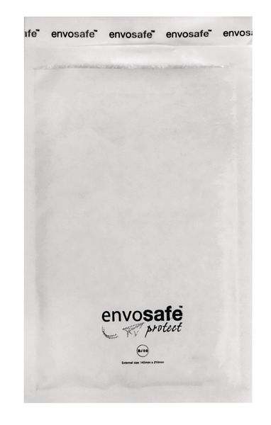 Envosafe White Postal Bags Size B Pack of 200 Post Bags