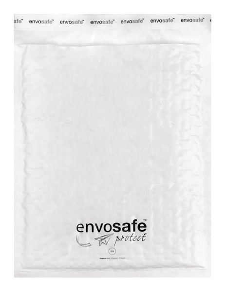 Envosafe White Postal Bags Size E Pack of 100 Post Bags