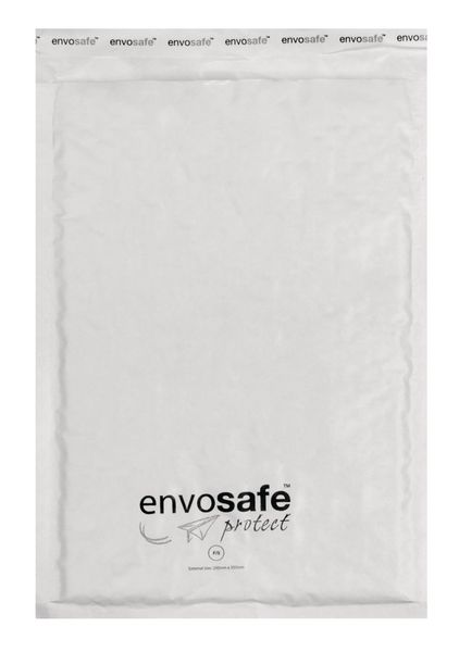 Envosafe White Postal Bags Size F Pack of 100 Post Bags