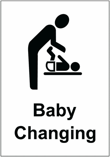 Baby Changing - Symbol + Text