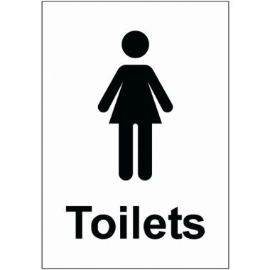 Female Toilet Sign Safety Signs