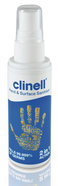 Clinell Hand And Surface Spray 60Ml