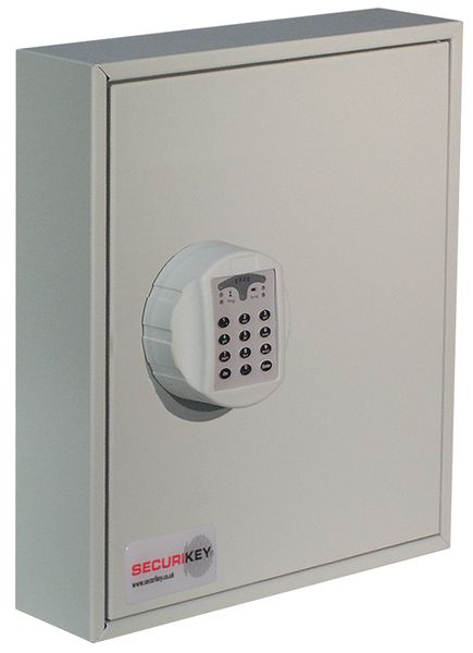 Uk Signs & Labelssecure Electronic Lock Key Cabinet Cabinet