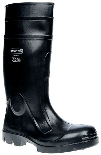 Safety Wellingtons - Green - 12 Boots