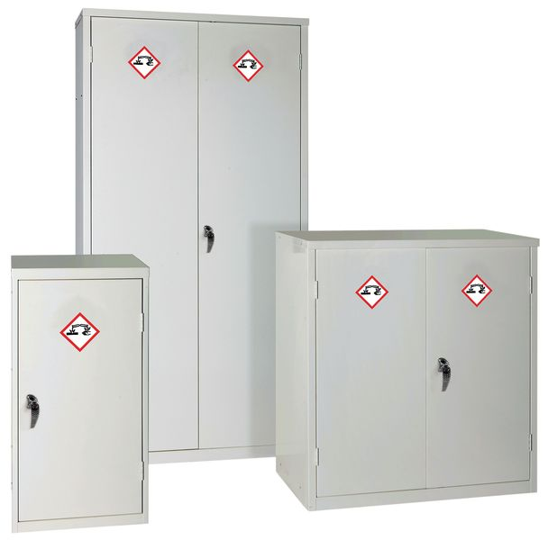 Acid Corrosives Cabinet H 760mm x With 457mm x D 457 Cabinet