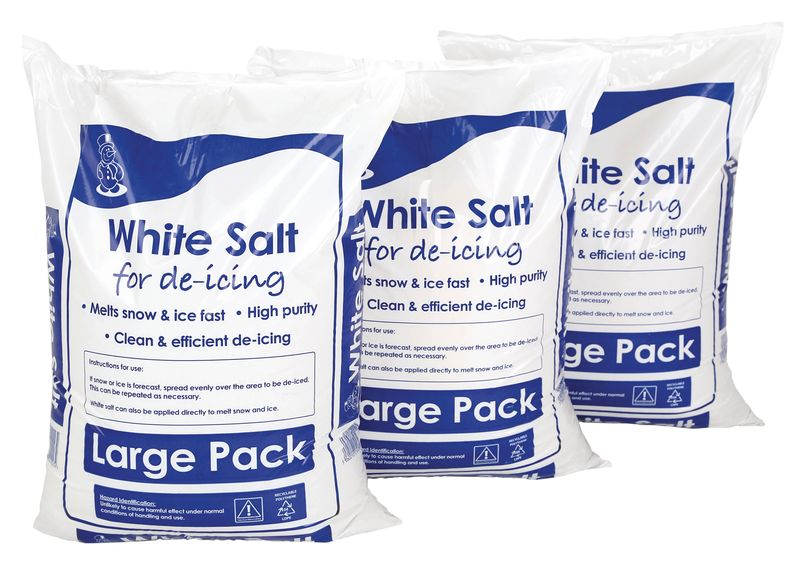 3 For 2 Bags of Salt 25Kg Bags