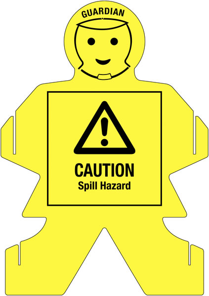 Guardians Caution Spill Hazard