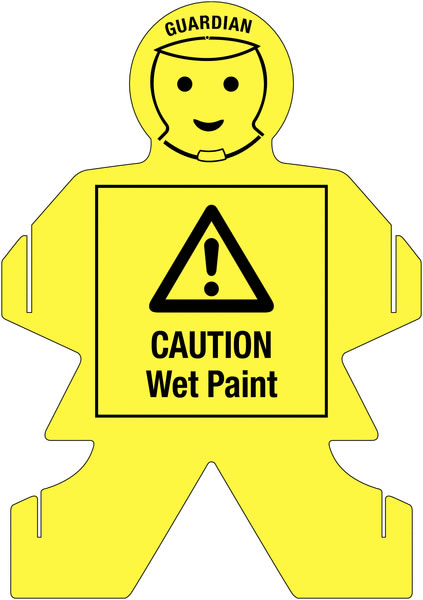 Guardians Caution Wet Paint Paint