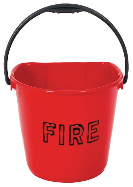 250 x 280 mm Multi Purpose Plastic Fire Buckets