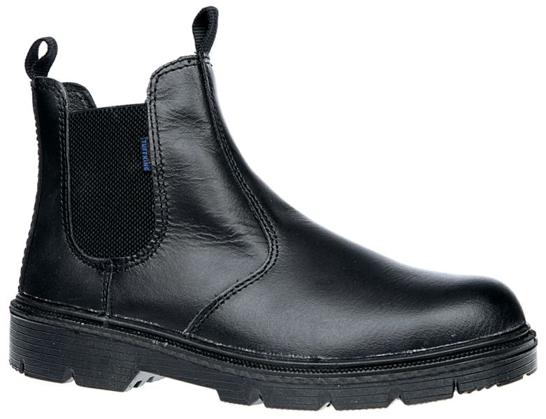 Leather Dealer Boots Black - Size 4 Boots