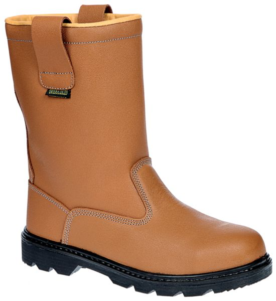 Warmlined Safety Rigger Boots Size 10 Boots